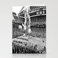seahawks Stationery Cards featuring Seattle Seahawks, CenturyLink Field by SefoG