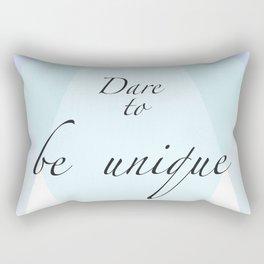 Dare to be unique! Rectangular Pillow