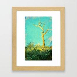 And still I stand Framed Art Print
