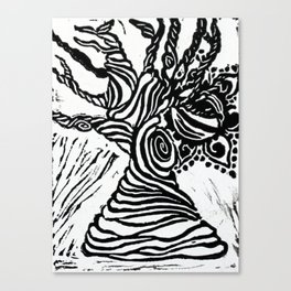 The Eye of Nature Canvas Print