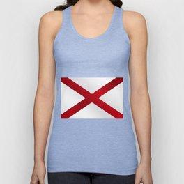 Alabama Sate Flag Gloss Unisex Tank Top