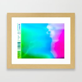trapped in a notebook no. 1 Framed Art Print