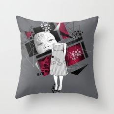 Constructivism Throw Pillow