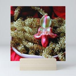 Ruby Glass Slipper Mini Art Print