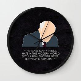 Being Human - Patrick Kemp Wall Clock