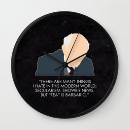 Being Human - Patrick Kemp Wall Clock