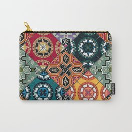 DESEO BOLD spanish tiles Carry-All Pouch