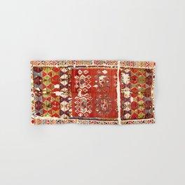 Hotamis  Antique Turkish Karapinar  Kilim Print Hand & Bath Towel