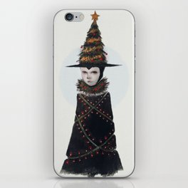 Yule Witch iPhone Skin