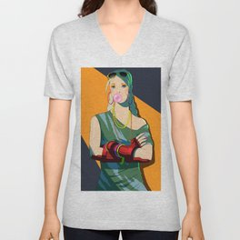 80'S Cammy Unisex V-Neck