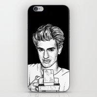 garfield iPhone & iPod Skins featuring Andrew Garfield by Sharin Yofitasari
