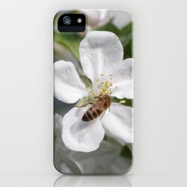 Bee on Mau ApleTree iPhone Case