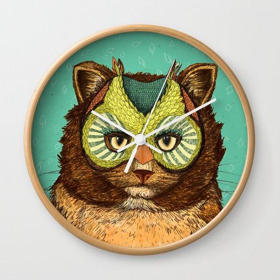 OwlCat Wall Clock