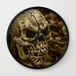 Halloween Skull 2 Wall Clock