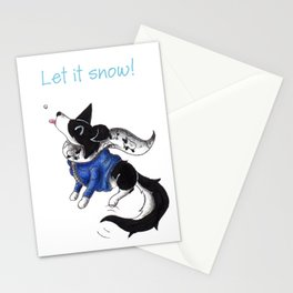 Parka Collie Stationery Cards