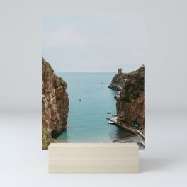 Marina di Praia   Fine art photo print Amalfi Coast Italy Praiano Mini Art Print