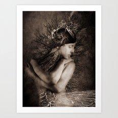 Isa Art Print