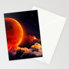 Big Bloody Moon Stationery Cards