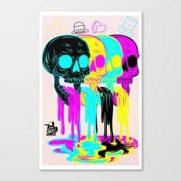 cmyk Canvas Print