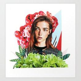 Bloom 12 Art Print