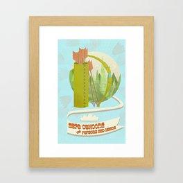 Sera Cahoone Poster Framed Art Print