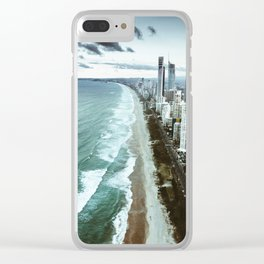 surfers paradise beach Clear iPhone Case