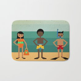 Vamos a la playa Bath Mat