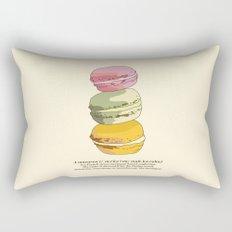 Sweet Macarons Rectangular Pillow