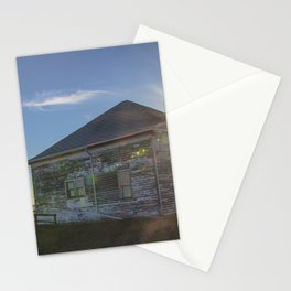 Old Building, Chaseley, North Dakota 1 Stationery Cards
