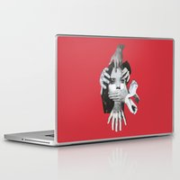 mad Laptop & iPad Skins featuring Mad by fabiotir