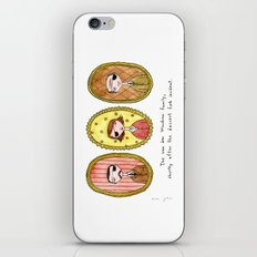 the dessert fork incident iPhone & iPod Skin