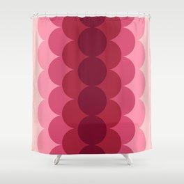 Gradual Pink Shower Curtain