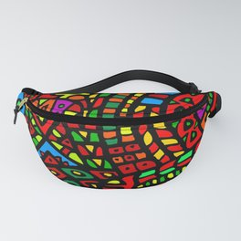 Abstract #411 Fanny Pack