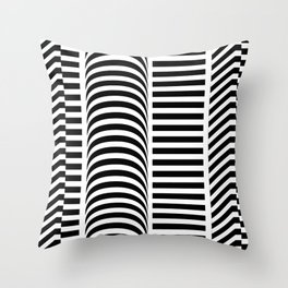 PARALLEL 2 Throw Pillow