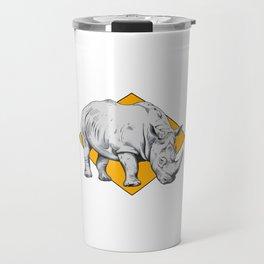 Rhino Yellow Travel Mug