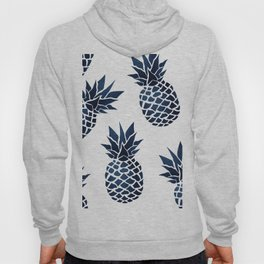 Pineapple Blue Denim Hoody