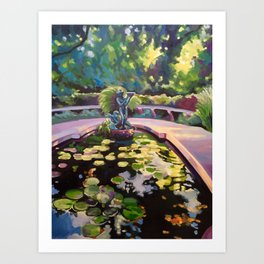 The Conservatory Garden Art Print