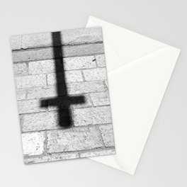 Religion is a 'No Loading at Any Time' road sign. Stationery Cards