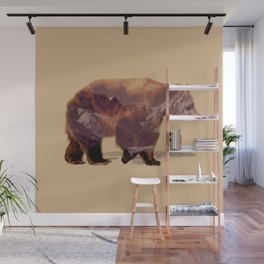 Glacier Grizzly Wall Mural