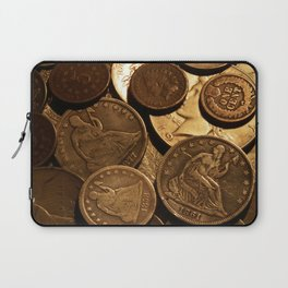 Cool Old Coins Laptop Sleeve