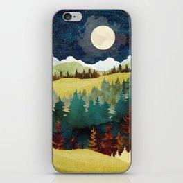 Autumn Moon iPhone Skin