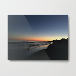 Main Beach Sunset Metal Print