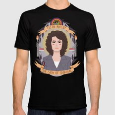 Ellen Ripley Black Mens Fitted Tee MEDIUM