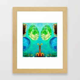 Cocoon Framed Art Print