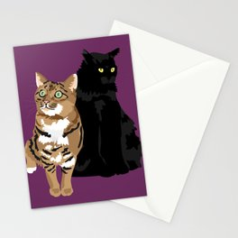 Niles and Gingerbread Stationery Cards