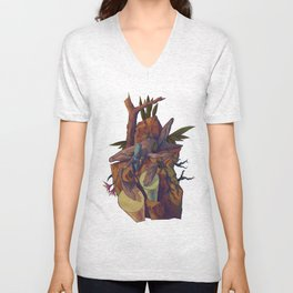 One with the sound Unisex V-Neck