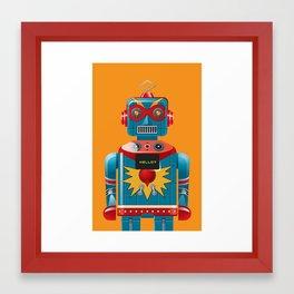Hellobot 1 Framed Art Print