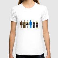 watchmen T-shirts featuring 8-bit Watchmen by MrHellstorm