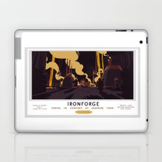 Ironforge Classic Rail Poster Laptop & iPad Skin