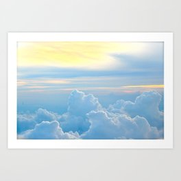 Where the Angels Fly Art Print